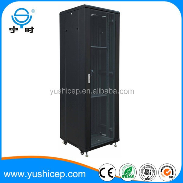 Free standing flat packing server rack network cabinet fot telecommunication