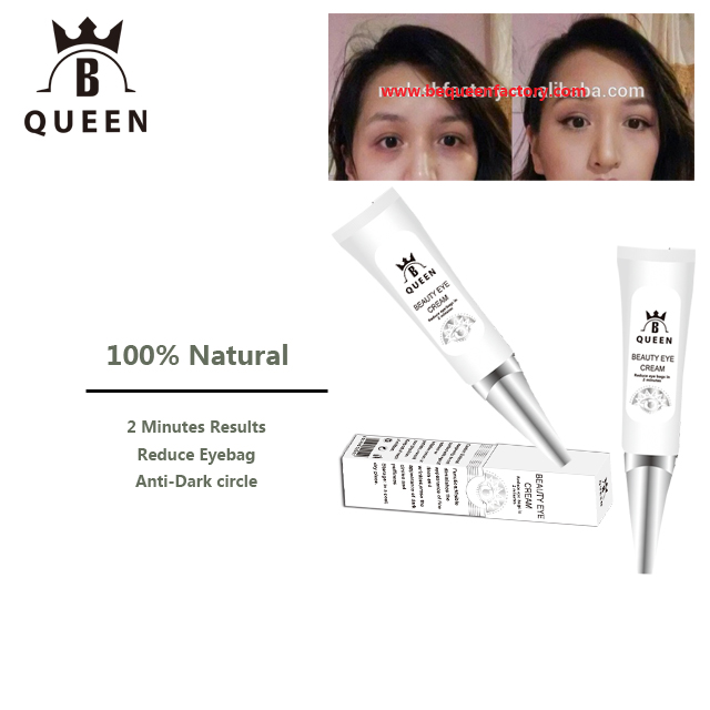 2 minutes Bye Bye Under Eye Bags, Dark Circles, Wrinkles, Puffiness -Be Queen Real plus beauty eye cream