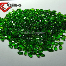 5x10mm oval faceted gem stone chrome diopside