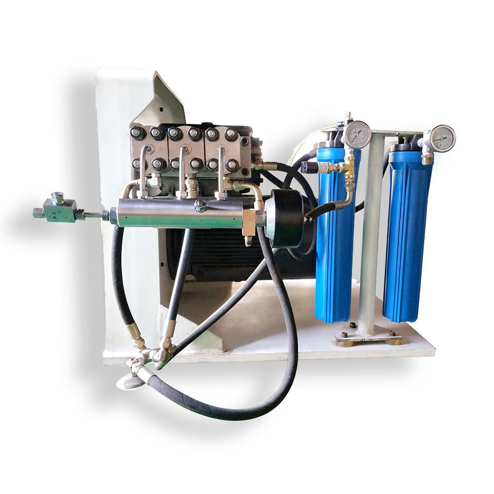 High Pressure Waterjet Abrasive Jet Machining Direct Drive Pump Spare  Parts