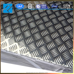 Hot Sale Anti-Slipping Aluminium Checkered Plate for Floor and Decoration