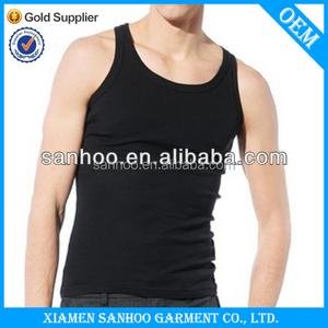 New Product Fashion Gym Men'S Sexy Tank Tops Underwear Sleeveless Vest