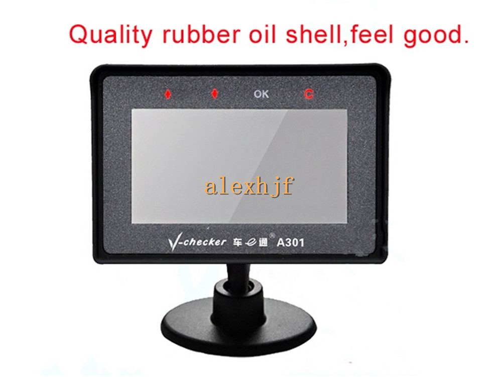 Tire Pressure Sensor Fault >> Multi-function Diagnostic OBD2 Car Trip Computer A301T + TPMS, Car OBDII Doctor
