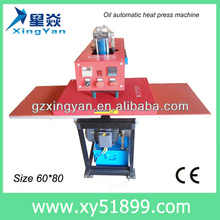 Professional Hydmatic Big Size Heat Press sublimation/heat transfer press machine,60*80 Pneumatic Double Station Heat Press A