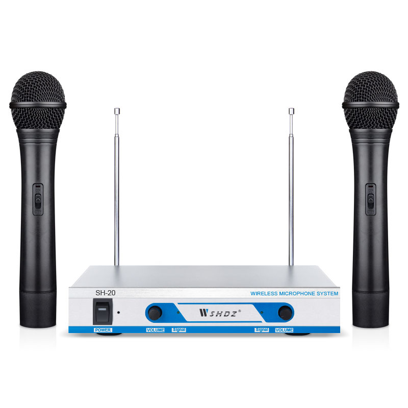 studio vocal microphone uhf professional wireless handheld microphone tulips shape speaker