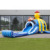 2017 multiplay octopus super inflatable bouncy castle / inflatable combo slide