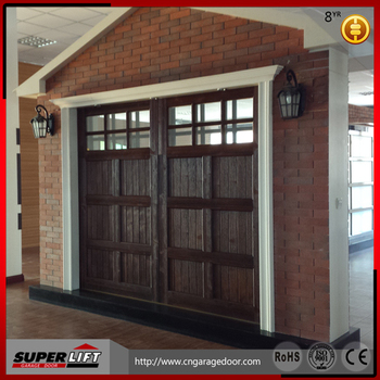 Sectional Glass Garage Door Of Automatic Sectional Panel Folding Up Glass Garage Door