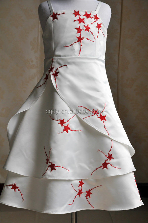 2015 Latest Embroidery Long Frocks Designs Children Party