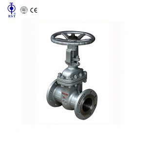 WCB DN 100 flanged industrial cast steel gate valve