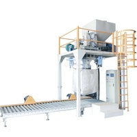 500-2000kg bulk bag plastic granular packing machine