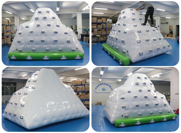 inflatable pool iceberg