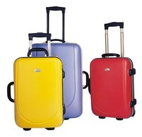 New product for 2015 Decent abs pc trolley luggage bag