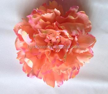 Silk artificial coral peony flower head wholesale buy peonysilk silk artificial coral peony flower head wholesale mightylinksfo