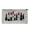 promotional cotton eco contents heat resistant beauty printed cosmetic bag custom