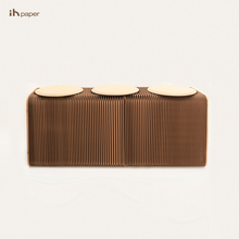 Ihpaper popular portátil simplificar interior decoración Home Living silla
