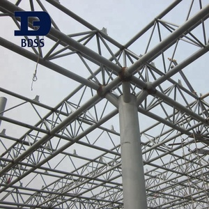 Factory Simple Portable Arched Roof Truss Steel Structure Drawing