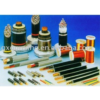 Copper clad aluminium condutor PVC insulated double steel tape armoured PVC sheath power cable