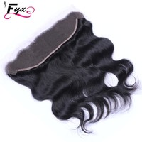 Brazilian Full Lace Frontal Closure Free Middle 3 Part 13*4 13*2 360 lace Frontal Virgin Hair Ear To Ear Lace Frontal Closure