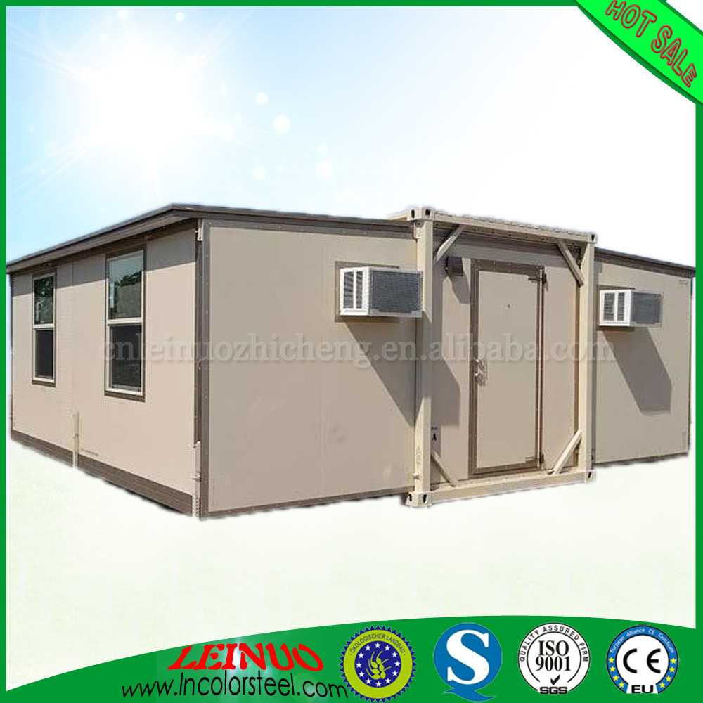 CE Approved insulated color steel sheet tiny house expandable house for social housing Galvanized Steel Frame to Malaysia