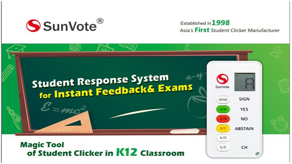 SunVote Interactive Classroom Student Voting  System