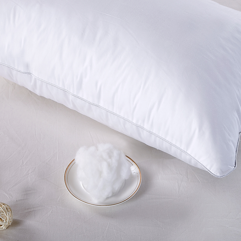 OEM ODM 100% Polyester Filling White Hotel Sleeping Pillow