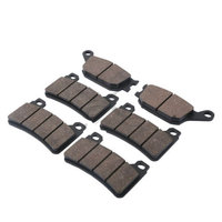 Motorcycle Rear & Front Semi Brake Disc Pads Set