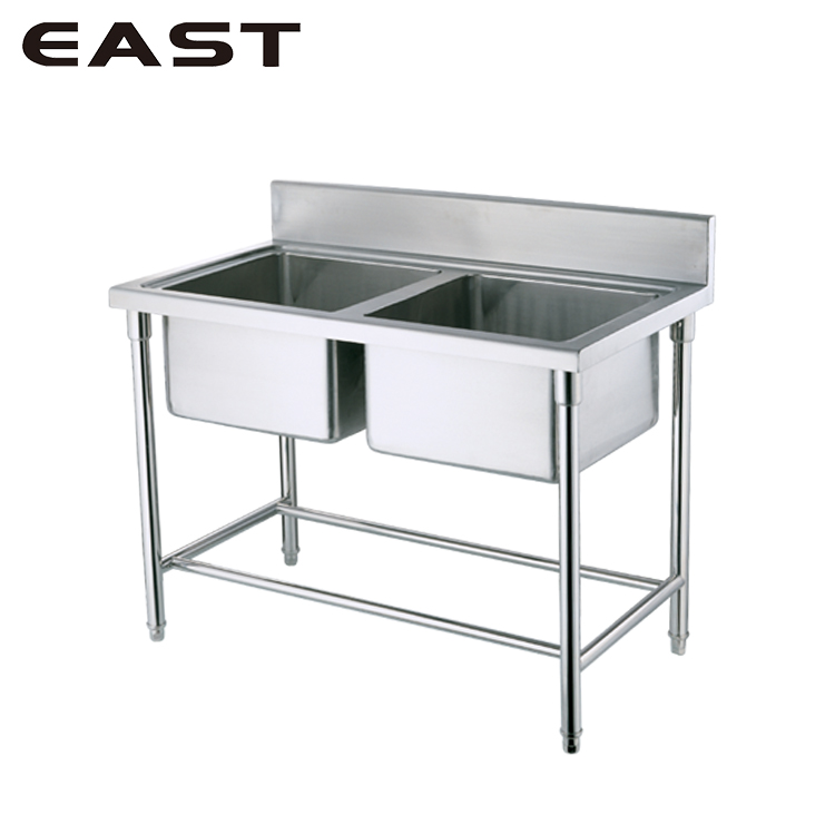 Factory Price Double Bowl Kitchen Sink/Portable Sink For Camping/Garden Stainless Steel Sink