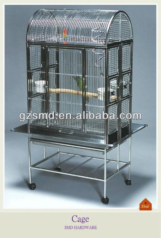 Dome Top Big Stainless Steel Bird Cage