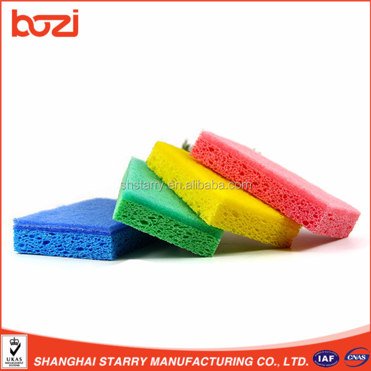 High Absorbent 100% Wooden Pulp Cellulose Sponge