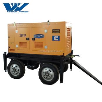 Cheap Price 30kva Mobile Diesel Generator With Four Wheels Trailer - Buy  Mobile Diesel Generator Product on Alibaba com