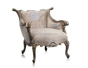 Luxury Italian Style Dining Chairs Solid Wood Hand Carved Chairs