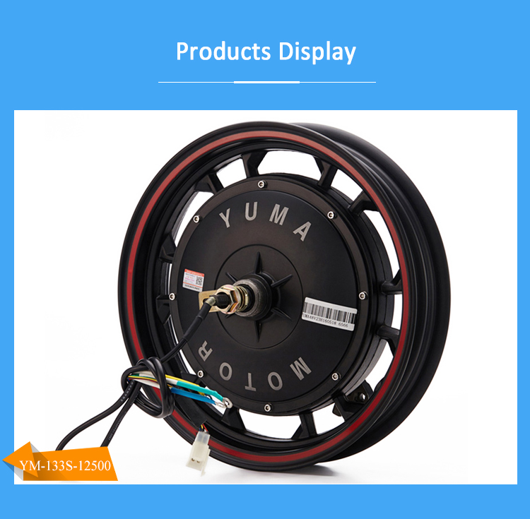 12Inch 500W Brushless Dc Mid Drive Electric Bike Motor