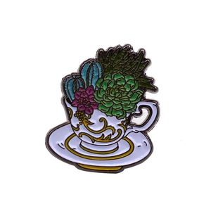 Die struck wholesales black cheap cup soft enamel lapel custom pin