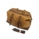 Waxed Canvas&Leather Military Bag Duffle Bags Soft Overnight Travel Bags