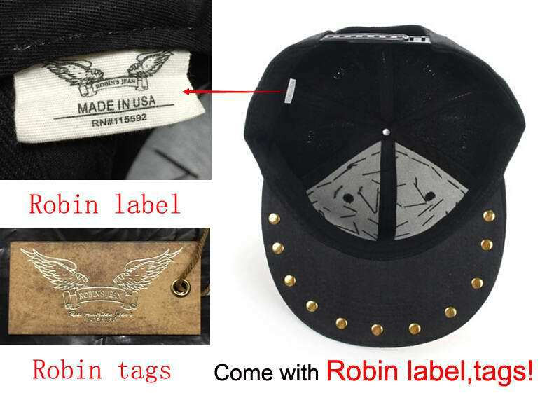 Wholesale 2015 Fashion New Black Robin Jeans Hat Designer Famous ... 4378996eacd