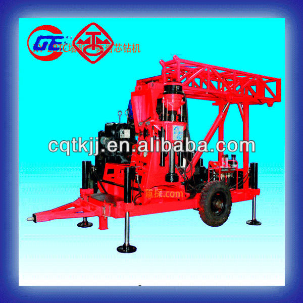 New design Max depth 500m move smoothly XY-2BTC portable trailer seismic horizontal directional drilling rig