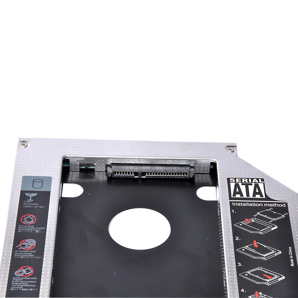 2nd SATA HDD SSD Hard Drive Case/Caddy for E5440 E5540 E6440 E6540