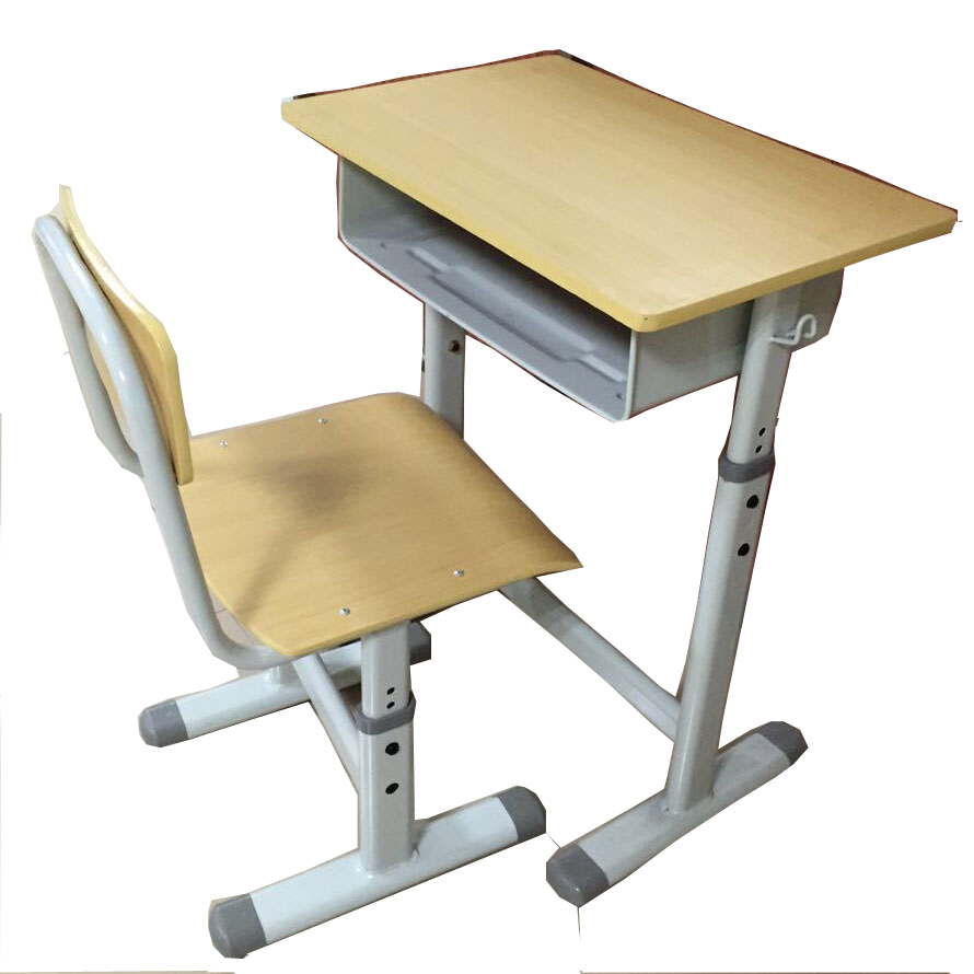 Metal School Desk Chair For College Students Cheap School