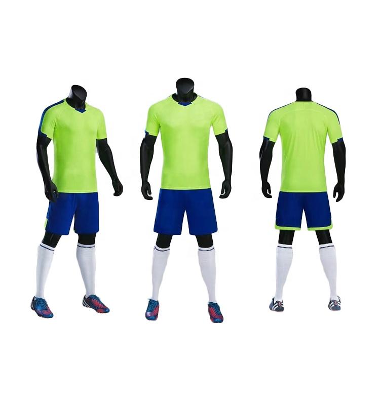 Thailand Soccer Jersey China Maker Football Uniform Stock, Pantone color