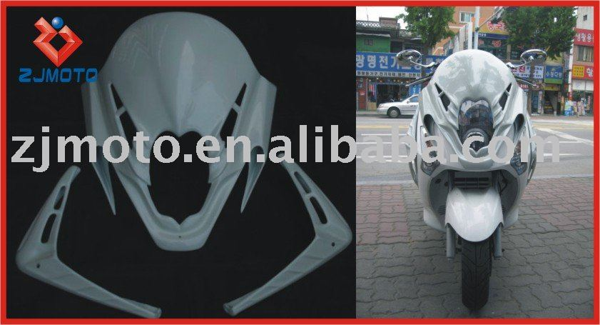 FRP Motorcycle Bodywork Fairing For SYM GTS 125 Voyager 125 FRP Fairing Body Kits Cover(HRH)