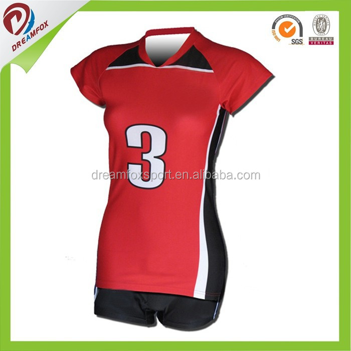 dry fit sublimation custom cheap volleyball uniform for men design