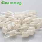 High filling rate size 00 transparent white vegetable empty hpmc capsule shell for weight loss capsule
