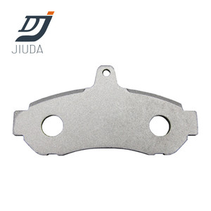 DL234 commonly used types of steel brake pad backing plates for japanese cars