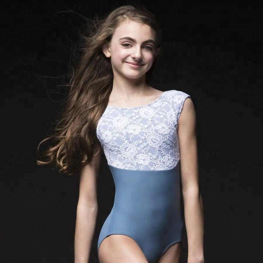 Girls Uniform Leotard Bodysuit Dance Gymnastics Ballet Sleeveless Leotards Kids