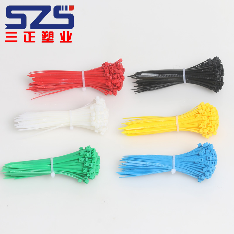 Top Sell Self-Locking Blister Card Package 3.0x150mm Item No.386-032 Nylon Cable Tie for Multi-colour
