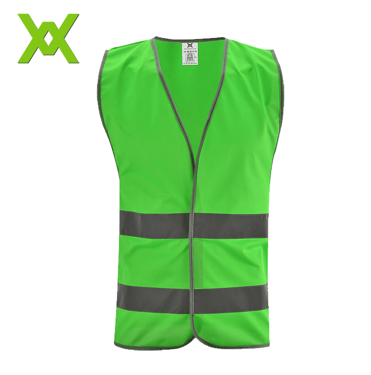 Wanxiao stock high vis fluorescent green <strong>orange</strong> security reflective <strong>vest</strong>