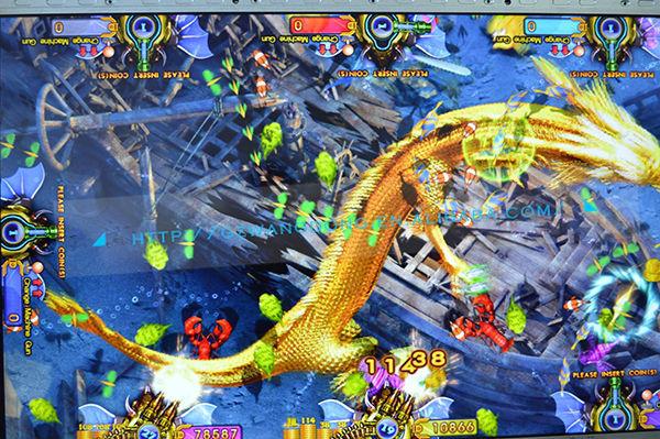 Igs game dragon king of treasures english version shooting for Gold fish game