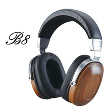 High Quality Wooden Products Stereo Blue Tooth Wireless  Headphone