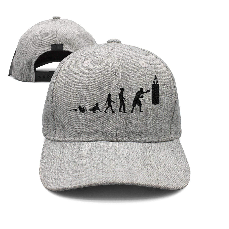d068eb50d6a Get Quotations · Evolution Boxing Woolen Peak Cap Snapback Hat Summer Hats