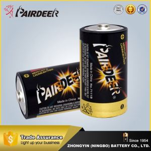 Fine appearance 1.5V LR20 D Size Super Alkaline golden power alkaline battery
